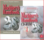 Machinery's Handbook, Oberg, Erik and Jones, Franklin D., 0831128380