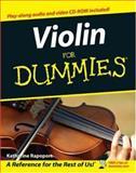 Violin for Dummies, Katharine Rapoport, 0470838388
