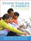 Ethnic Families in America : Patterns and Variations, Habenstein, Robert W. and Wright, Roosevelt, Jr., 0130918393