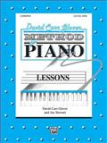 Glover Lessons, David Carr Glover, 089898839X
