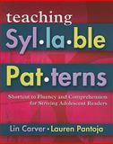 Teaching Syllable Patterns 9781934338391