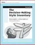 Decision-Making Style Inventory, Coscarelli, William C., 0787988391
