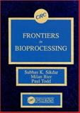 Frontiers in Bioprocessing, Sikdar, Subhas K. and Bier, Milan, 0849358396