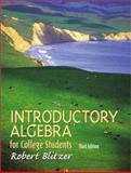 Introductory Algebra for College Students, Blitzer, Robert, 0130328391