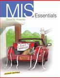 Mis Essentials, Kroenke, David M., 0132618397