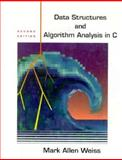 Date Structures and Algorithm Analysis in C, Weiss, Mark A., 0201498405