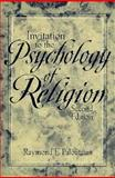 Invitation to the Psychology of Religion, Paloutzian, Raymond F., 0205148409