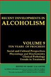 Recent Developments in Alcoholism 9780306438400