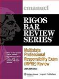 Multistate Professional Responsibility Exam (MPRE) 2009, Rigos, Jim, 0735578400