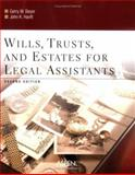 Wills, Trusts, and Estates for Legal Assistants, Beyer, Gerry W. and Hanft, John K., 073555840X