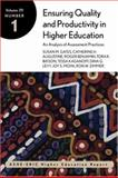 Ensuring Quality and Productivity in Higher Education: an Analysis of Assessment Practices : ASHE-ERIC Higher Education Report, Gayle, Dennis and AEHE Staff, 0787958409