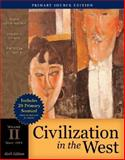 Civilization in the West, Volume II (since 1555), Primary Source Edition (with Study Card), Kishlansky, Mark and Geary, Patrick, 0205558402
