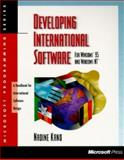 Developing International Software for Windows 95 and Windows NT, Nadine Kano, 1556158408