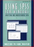 Using SPSS for Windows : Analyzing and Understanding Data, Akey, Theresa M. and Green, Samuel B., 013020840X