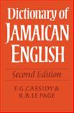 Dictionary of Jamaican English, , 0521118409