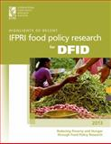 Highlights of IFPRI's Recent Food Policy Research for the DFID, International Food Policy Research Institute, 089629840X