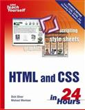 Sams Teach Yourself HTML and CSS in 24 Hours, Dick Oliver and Michael Morrison, 0672328410