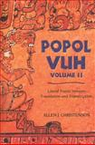 Popol Vuh Vol. 2 : Literal Poetic Version - Transcription and Translation, Christenson, Allen J., 0806138416