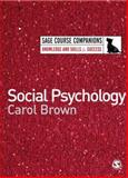 Social Psychology, Brown, Carol, 1412918413