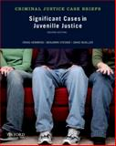 Significant Cases in Juvenile Justice, Hemmens, Craig and Steiner, Benjamin, 0199958416