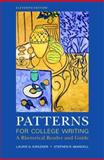 Patterns for College Writing : A Rhetorical Reader and Guide, Kirszner, Laurie G. and Mandell, Stephen R., 0312488416