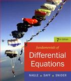 Fundamentals of Differential Equations, Snider, Arthur and Saff, Edward, 0321388410