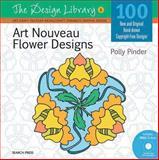 Art Nouveau Flower Designs, Polly Pinder, 1844488411