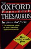 The Oxford Paperback Thesaurus, Kirkpatrick, Betty, 019282841X