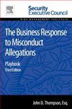 The Business Response to Misconduct Allegations : Playbook, Thompson, John D., 0128008415