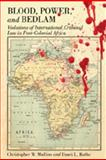 Blood, Power, and Bedlam : Violations of International Criminal Law in Post-Colonial Africa, Mullins, Christopher W. and Rothe, Dawn, 0820488410