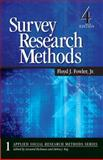Survey Research Methods, Fowler, Floyd J., 1412958415