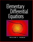 Elementary Differential Equations, Trench, William F., 0534368417