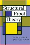 Structural Proof Theory, Negri, Sara and von Plato, Jan, 0521068428