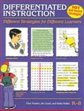 Differentiated Instruction : Different Strategies for Different Learners, Grant, Jim and Hollas, Betty, 1884548423