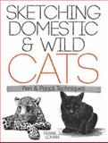 Sketching Domestic and Wild Cats, Frank J. Lohan and Art Instruction, 048648842X