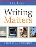 Writing Matters, Henry, D. J. and Dorling Kindersley Publishing Staff, 0205758428
