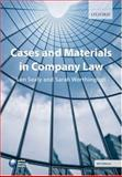 Cases and Materials in Company Law, Sealy, L. and Worthington, Sarah, 0199298424