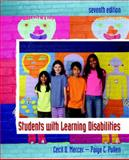 Students with Learning Disabilities, Mercer, Cecil D. and Pullen, Paige C., 0132228424