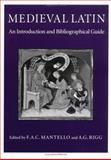 Medieval Latin 9780813208428