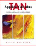 Applied Calculus, Tan, Soo T., 0534378439
