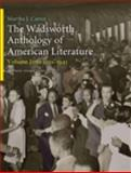 Wadsworth Anthology of American Literature, 1910-1945, Parini, Jay and Cutter, Martha J., 1413018432