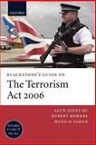Terrorism Act 2006, Jones, Alun and Bowers, Rupert, 0199208433