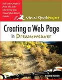 Creating a Web Page in Dreamweaver, Nolan Hester, 0321278437