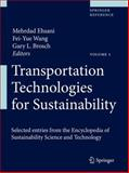 Transportation Technologies for Sustainability, , 1461458439
