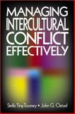 Managing Intercultural Conflict Effectively, Ting-Toomey, Stella and Oetzel, John G., 0803948433