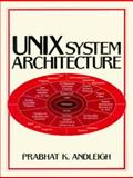 UNIX System Architecture, Andleigh, Prabhat K., 0139498435