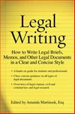 Legal Writing, David Thomson, 1427798435