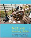 Active Reading Skills : Reading and Critical Thinking in College, McWhorter, Kathleen T. and Sember, Brette M., 0205028438