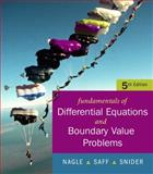 Fundamentals of Differential Equations with Boundary Value Problems, Snider, Arthur and Nagle, R. Kent, 0321388437