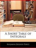 A Short Table of Integrals, Benjamin Osgood Peirce, 1146118430